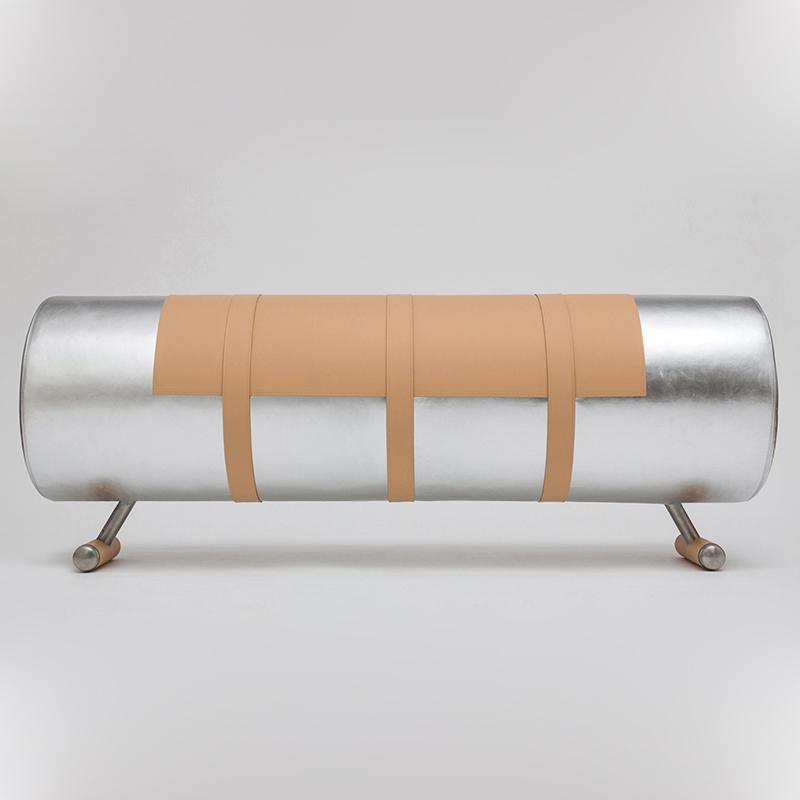 Secondome_Body Building_Cavallina argento_Atelier Biagetti