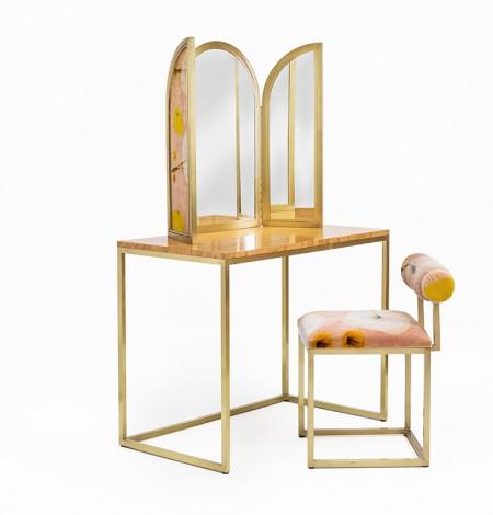 Secondome_Awaiting_Vanity + T stool_Giorgia Zanellato Coralla Maiuri