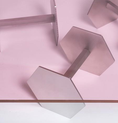 Secondome_Body Building_Tavolo Manubri dettaglio_Atelier Biagetti