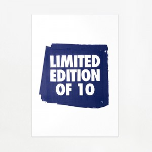 Only for friends – Limited edition of 10