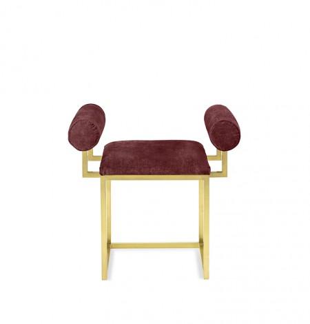 H stool COL.120 VINO